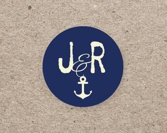 Sticker wedding - Marin