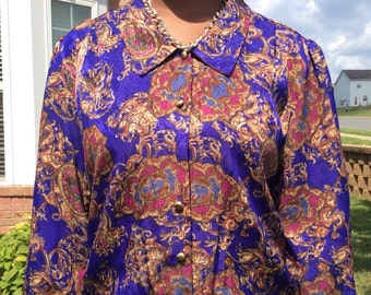 Classy vintage blouse