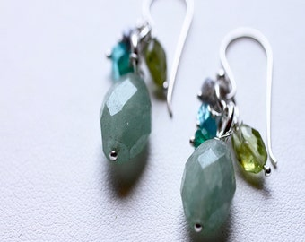 Grace Aventurine Earrings