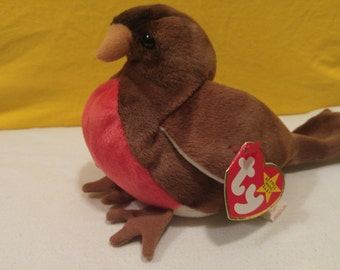 Early The Robin Ty Beanie Baby 1997