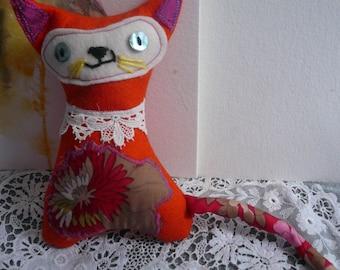 Retro Cat toy . Hope the inspirational cat