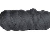 Giant Knitting Merino Wool Roving  // Dark Grey // 1 kilogram// 22 Micron // Australian Merino // Arm Knitting // Hand Crochet //