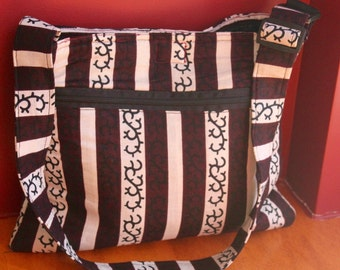 Ghana Print - Laptop Shoulder Bag