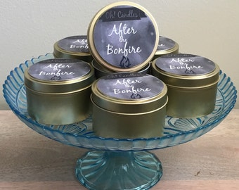 After the Bonfire Soy Candle Tin