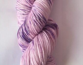 Hand Dyed Yarn 2ply Superwash Wool/ Nylon 100g/450m