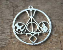 3pcs-- HP charm, hunger game charm, divergent charm, shadow huntter charm pendants 43MM D1216