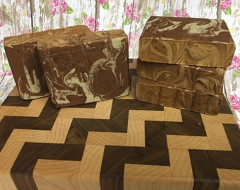 Hazelnut Latte Handmade Soap