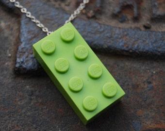 Light Green Brick 2x4