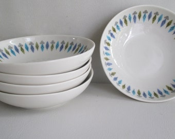 Syracuse China Nordic pattern bowls Carefree China