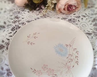 Vintage Rose China Plate 10x10