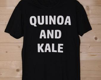 SALE! 30% OFF - Quinoa And Kale Tee BLACK