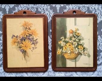 Vintage Farmhouse Flower Prints