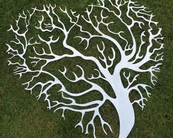 Tree hart aluminium