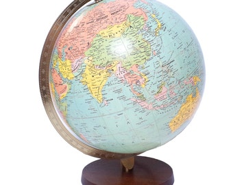 Vintage Globe, Underwriters Laboratories, Light up Globe