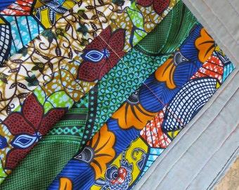 Handmade Lap Quilt: AFRICAN QUEEN