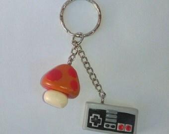 Nintendo keychain