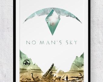 No Man's Sky print/poster