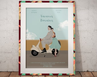 Poster - Roman holiday