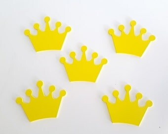 PACK 5 wood crowns.