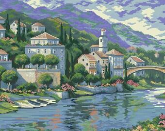 Italian Vista Cross Stitch Pattern