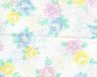 2.5 yards poly-cotton textured fabric