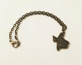 Brass Texas Bracelet
