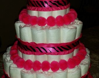 Sweet Diaper Cakes
