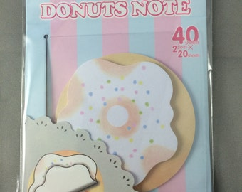 Donut Sticky Note Pad