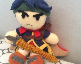Ike fire emblem/smash bros plush