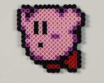 Kirby Perler Bead Sprite
