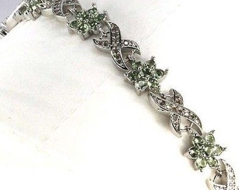 Lovely Green Amethyst bracelet