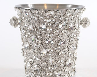 Crystal Champagne Bucket made with Swarovski® Crystals