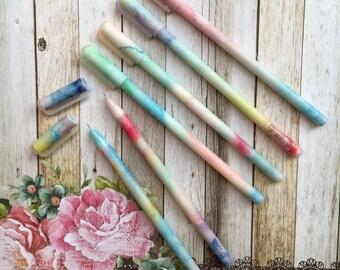 Pastel 'Marble' Gel Pen