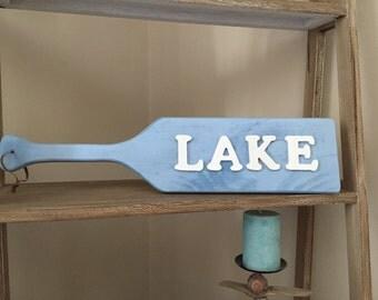Wooden Lake Paddle / Oar