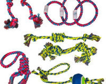 Multi-colored Dog Rope Toys