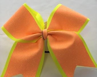 Orange Sherbert Bow