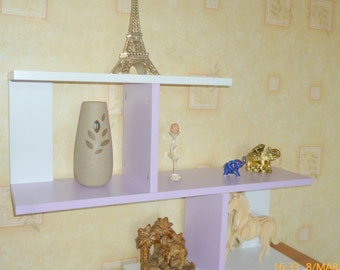 Handmade Bookcase, Stylish books,Living Room Furnature, Purple Bookcase, Shelves for Home,  Designer Furniture