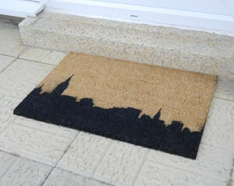 New York skyline doormat - 60x40cm