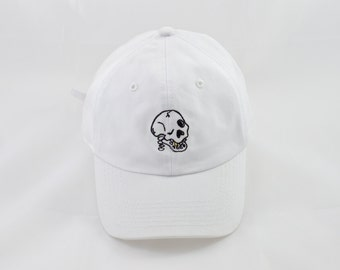 DIE TRYIN' Dad Hat by Joywavve
