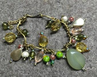 Bracelet ' Tuscany olive groves '-18cm