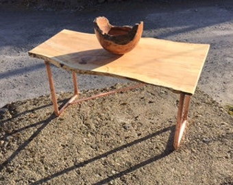 Copper & Beech Coffee Table