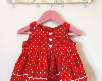 Emma Pinafore Dress in 6-9 Months