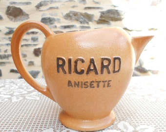 French Ricard Water Pitcher/Pastis Jug