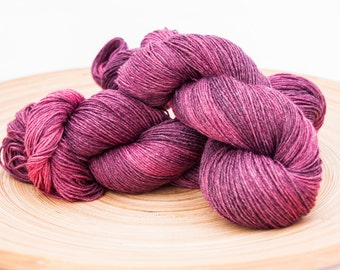 Red Wine Stain - BFL bamboo