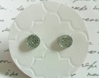 Multi Faceted Rhinestone Studs- Surgical Steel Posts