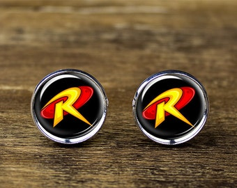 Robin cufflinks, Robin jewelry, Robin accessories
