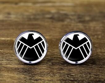 Avengers cufflinks, Avengers jewelry, Avengers accessories