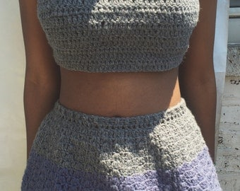 Two-Toned Two Piece