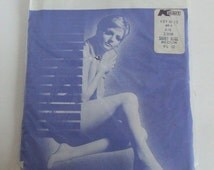 Vintage Fit Lon nylon pantyhose smoky beige size medium ladies wear underwear stockings