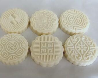 Six Happiness Mooncake Soaps
